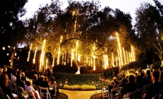Evening Wedding Ceremony  123WeddingCards