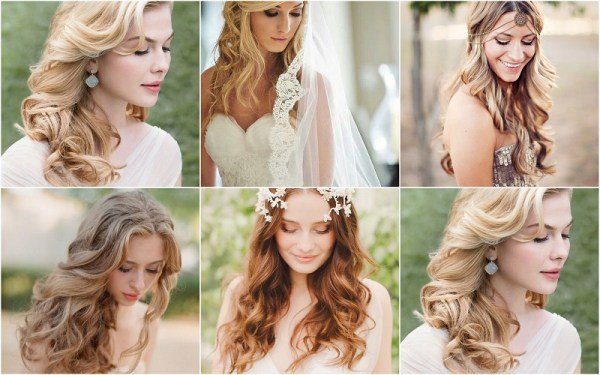 Loose Waves Wedding Hairstyle