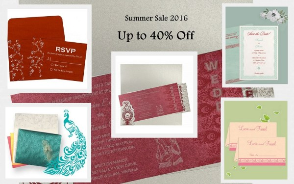 Summer Sale - 123WeddingCards