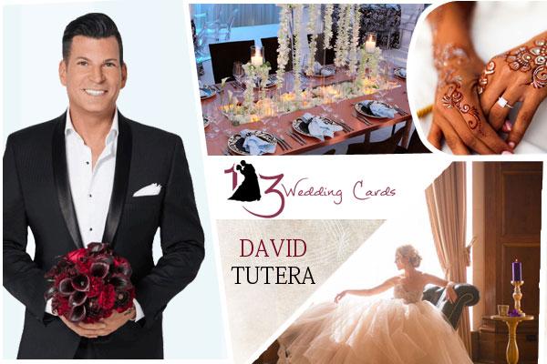 David Tutera   123WeddingCards