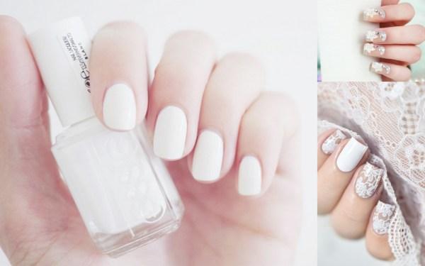 white-wedding-nail-art-123weddingcards