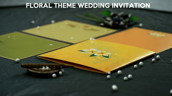 Floral Wedding Invitations - 123WeddingCards