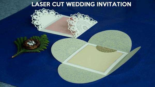 Laser Cut Wedding Invitations - 123WeddingCards