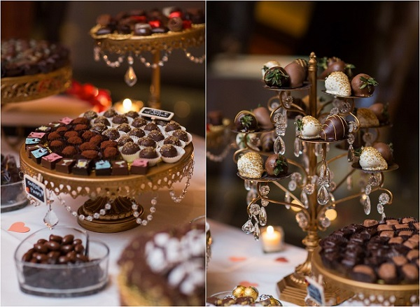 Chocolate and candy bar