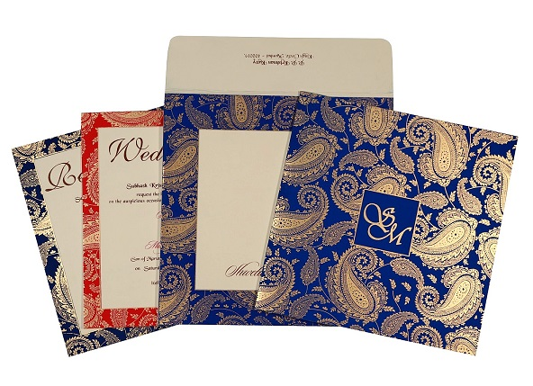 Islamic wedding invitation- I-1699 - 123WeddingCards
