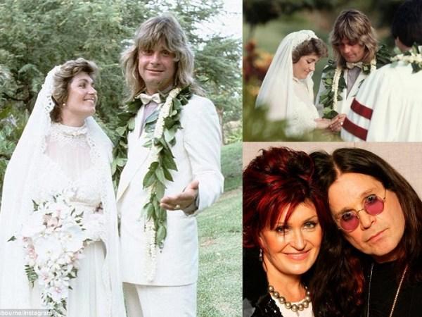 Ozzy Osbourne & Sharon Arden - 4th Of July Wedding - 123WeddingCards