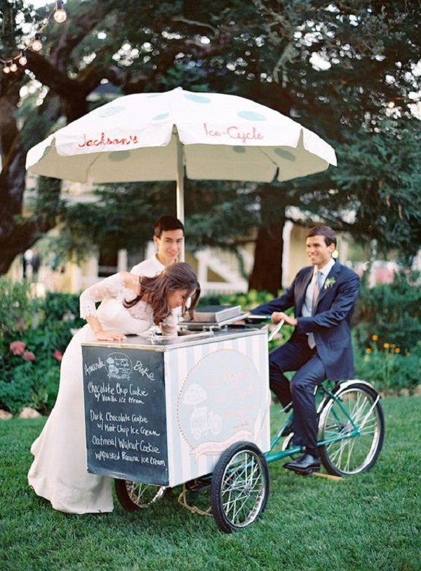Summer Wedding -ice creams
