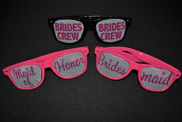 designer sunglasses - wedding favors