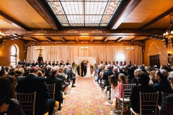 Theatrical Jewish wedding traditions