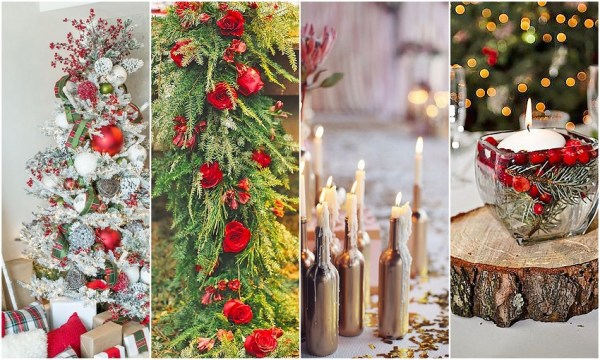 Christmas Wedding Decoration Ideas - 123WeddingCards
