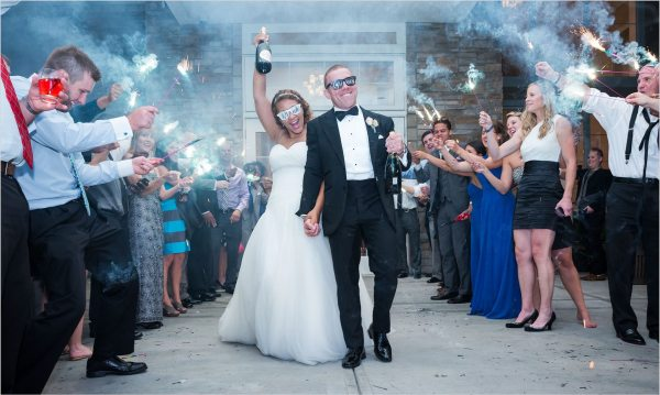 use of sparklers as props for wedding photographs_2