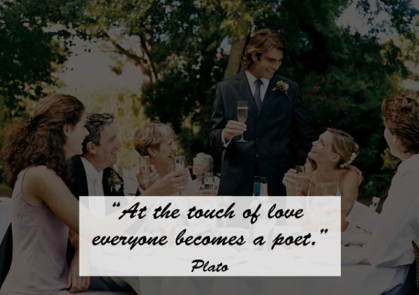 Great Quotes to Use as Wedding Toast 9 - 123WeddingCards