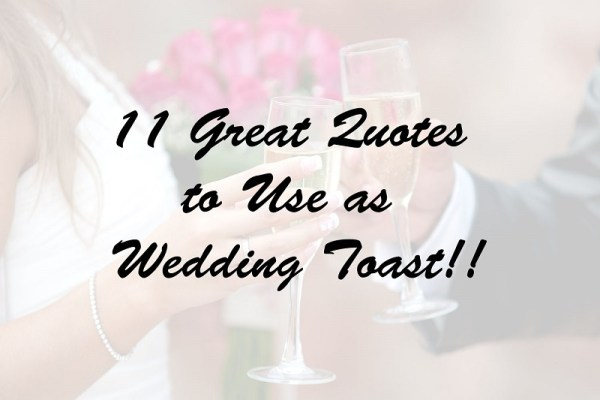 quotes for wedding toast by 123WeddingCards