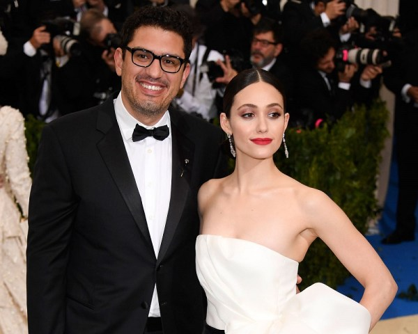 Emmy Rossum and Sam Esmail wedding