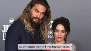 20 celebs who got married in 2017