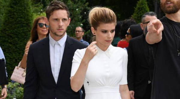 Kate Mara and Jamie Bell wedding