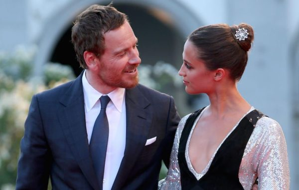 Michael Fassbender and Alicia Vikander wedding