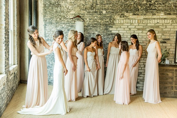 Select your bridesmaid's dresses