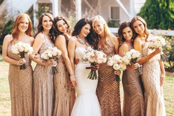Which will be your bridesmaids