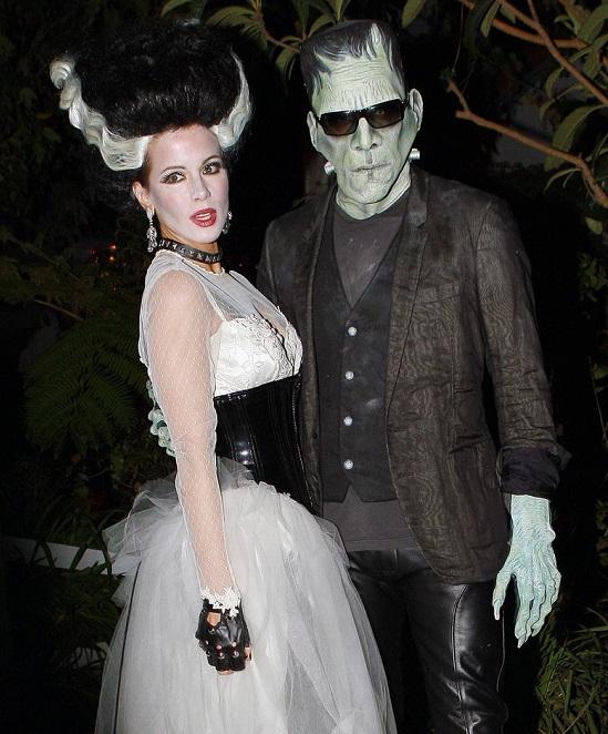 halloween dress of Kate Beckinsale and Len Wiseman in 2010