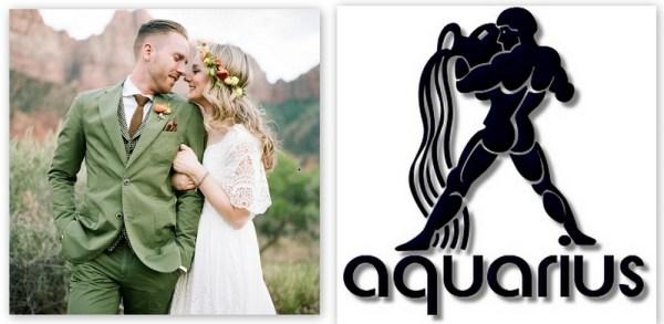 Aquarius- Without rules fun style wedding-123WeddingCards