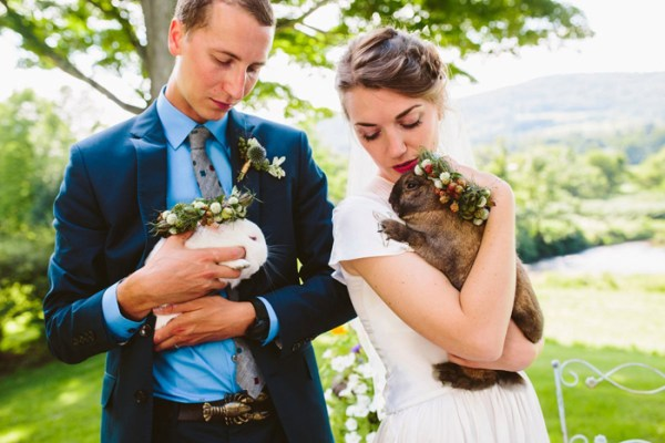Bunnies in Easter Wedding