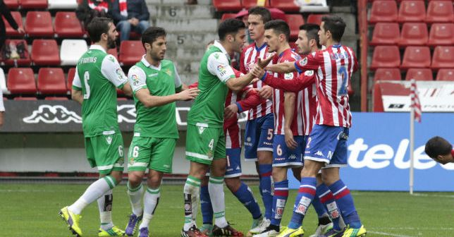Sporting Gijon vs Real Betis
