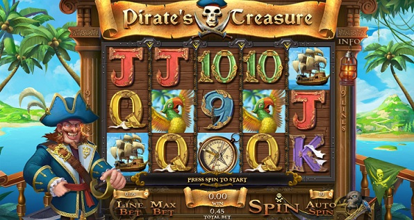 pirates treasure slot games