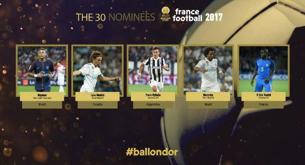 Ronaldo-Messi-Neymar-Suarez-and-Kane-among-the-Ballon-dOr-nominees