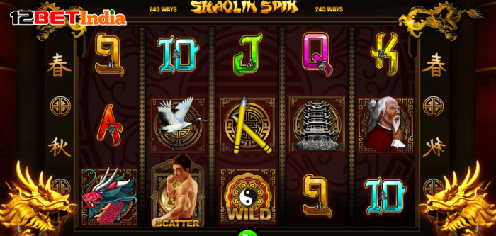 Shaolin Spin Slot Game