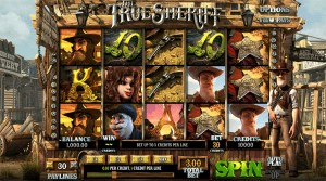 The True Sheriff slot games