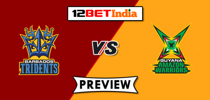 CPL T20 Match Preview: Barbados Tridents vs Guyana Amazon Warriors