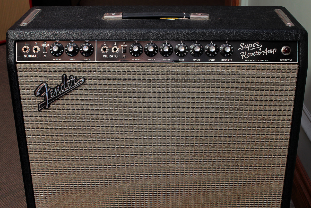 Blackface Fender Super Reverb Amplifier