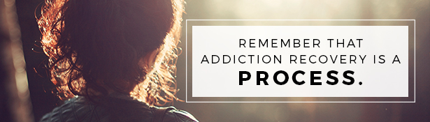 How to set realistic expectations in recovery: Remember it is a Process