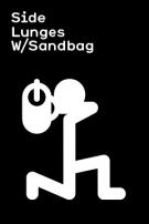 Sandbag Burpee Awesome Workout