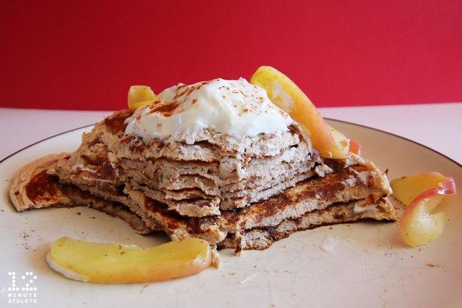 oatmeal applesauce protein pancake recipe