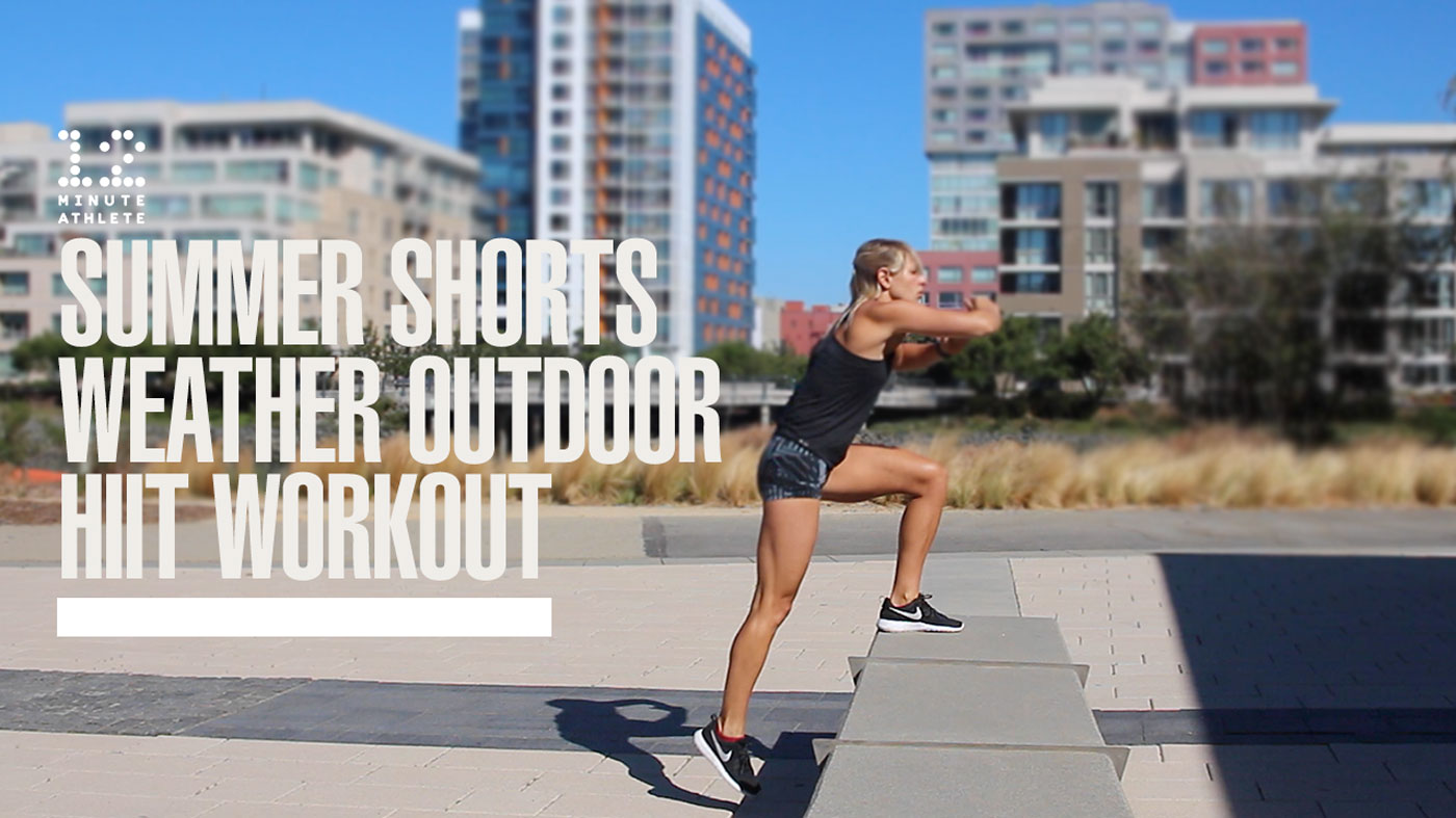 Summer Shorts Weather Outdoor HIIT Workout