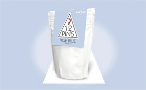 12 Pins True Blue Coffee Pouch