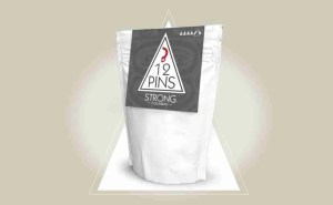 12Pins - strong Columbian coffee pouch