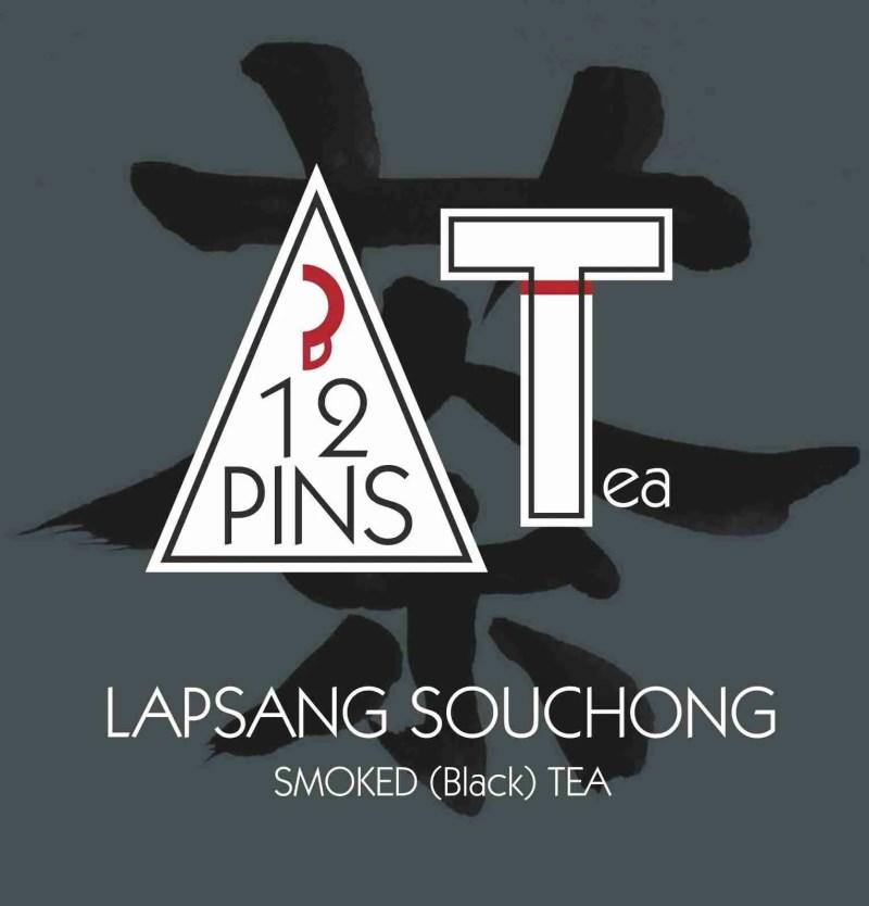 LAPSANG SOUCHONG smoked black tea label