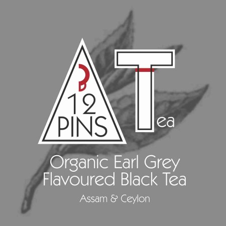 Organic Earl Grey Flavoured Black Tea label