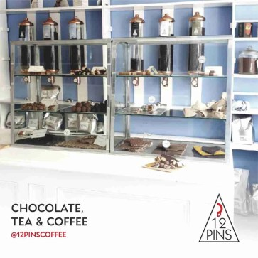 chocolates & coffee in store