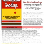 """Our """"Sell Sheet"""" for the new book is done – Kiss Addiction Goodbye"""