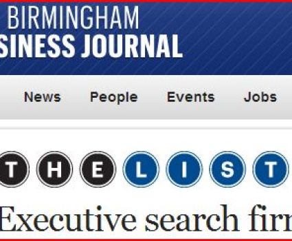 BBJ Executive Search Firms