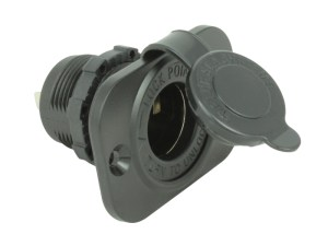 Blue Sea Systems Weatherproof 12V Socket | 12 Volt Pla