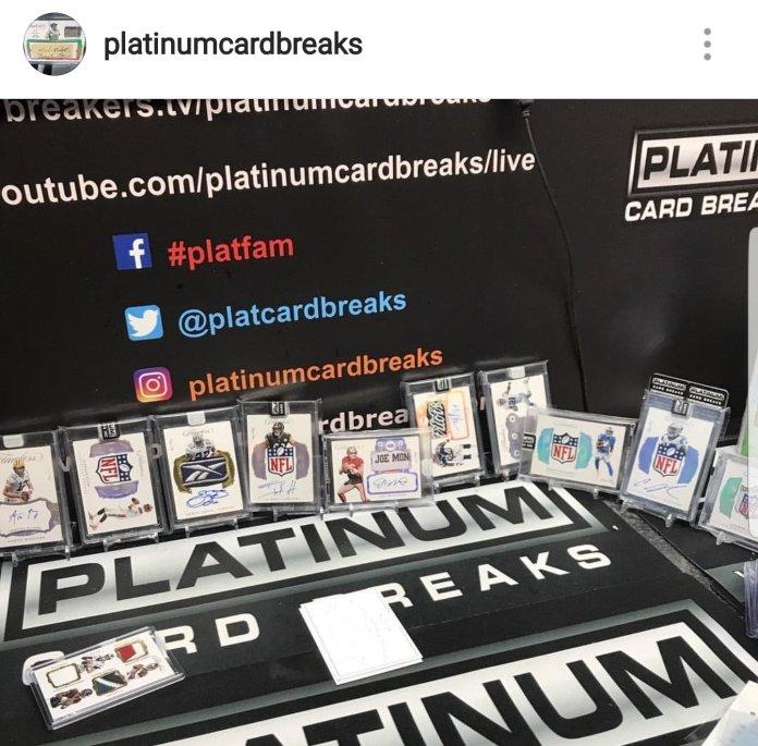 Platinum Card Breaks Instagram