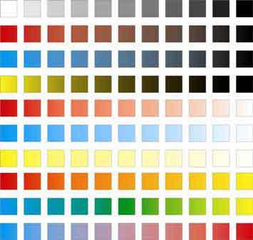 Corso di pittura ad olio on line - Varità di colori.