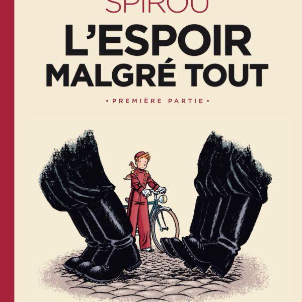 Émile Bravo, la Segunda Guerra Mundial y Spirou