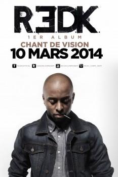 R.E.D.K. : son album Chant de vision le 10 mars 2014 dans les bacs !