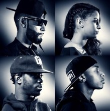 La Fouine : Team BS la pochette de leur album